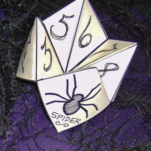 first fortune teller folded