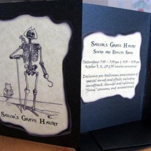 2010 Halloween party invitations