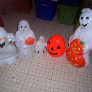 GhostPumpkin - Various Blowmolds