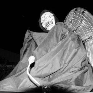 Sally my mannequin as the reaper