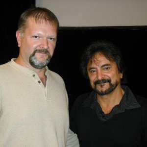 Me and Tom Savini, 2010