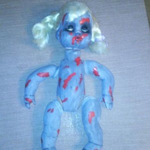 Zombie  doll in the works