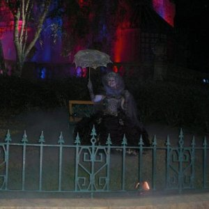 Haunted Mansion ghost.