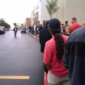 And Still in Line....