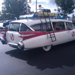 ECTO 1 making its move..