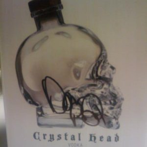 Dan signed my Crystal Head box for me.