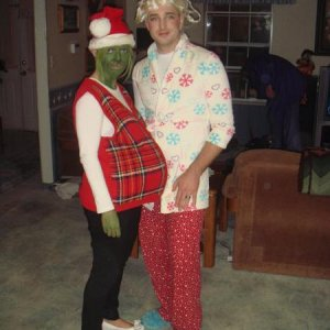 The Grinch and Cindy Lou