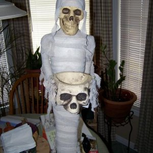 Skeletal Mummy