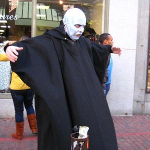 Nosferatu. He said nothing yet made a small child cry and whimper in fear.