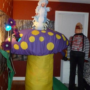 Forest, with The Caterpillar, Eyeball Flowers & Tweedle Dum