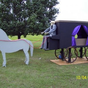 my  horse and hearse