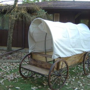 You need a wagon for a ghost town dont ya
