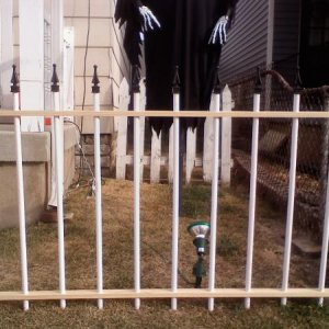 Cemetery Fence finials