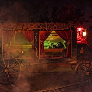 My hearse on Halloween night!!