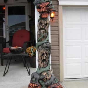 Pumpkin Pillar