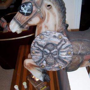 pirate horse front