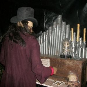 haunted organ and organist