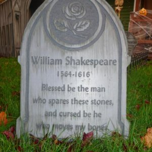 Tombstone: Shakespeare