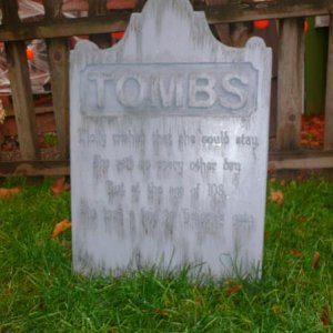 "Tombstone: New for 2010 ""Tombs"""