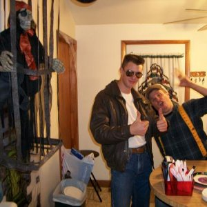 top gun and doofy lumberjack