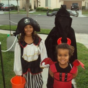 my daughter the pirate and the neighbors