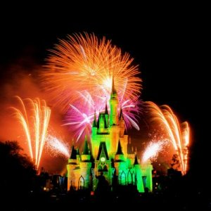 Disney World's Hallowishes Fireworks show