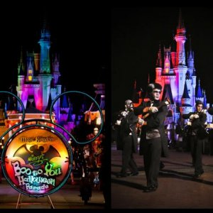 Disney World's Boo to You Parade