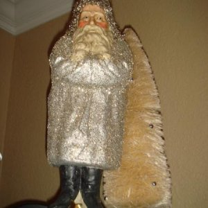 Silver Belsnickel another gift this christmas