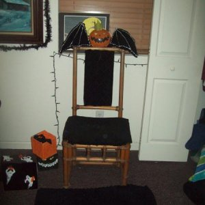 The Pumpkin King's Throne