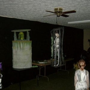 makeshift haunted house, next ye will be better i promise