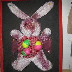 Bloody Easter Bunny Dissection