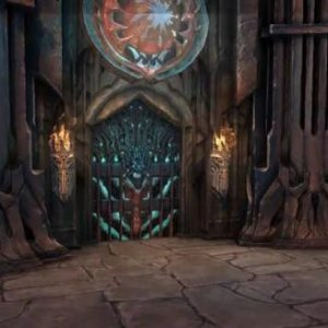 Foreign-looking/vampire room idea from Darksiders game