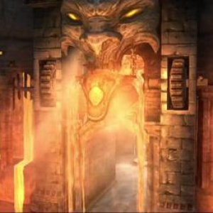 Awesome lava gate idea from Darksiders game