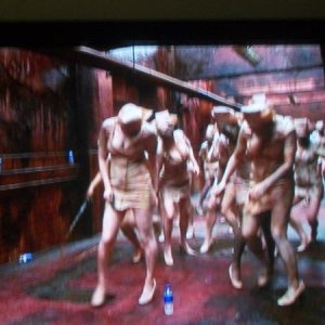 screen cap from the Making of Silent Hill