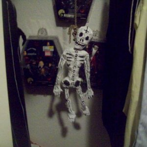 Skeleton in the closet front
