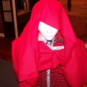 Red Riding Hood (from the front)