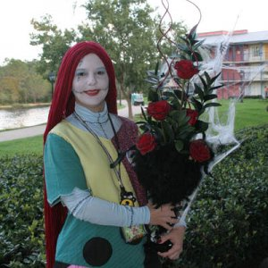 Sally at WDW