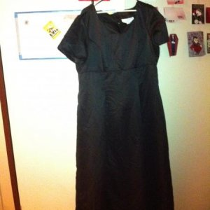 dress I bought to transform into my costume for 2011.  Party theme is witches!