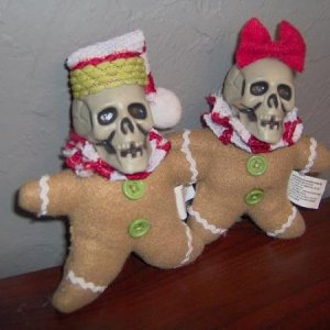 Undead Gingerbread Couple