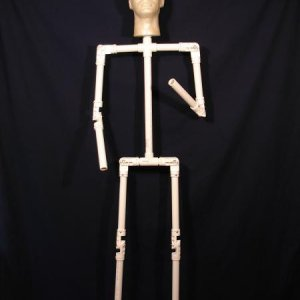 Adjustable PVC Armature (standing)