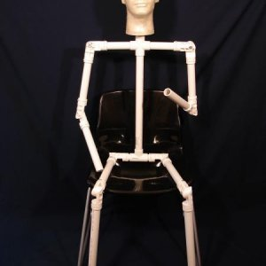 Adjustable PVC Armature (sitting)