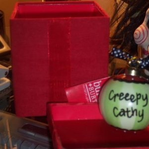 CreeepyCathy's gift from The Halloween Lady
