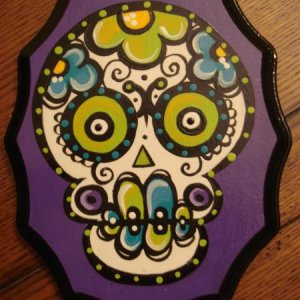 Fabulous PIF gift from ELH to me!! Fabulous Sugar Skull
