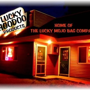lucky hoodoo products storefront