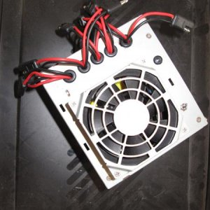 LED Spots, Power Supply - Top View