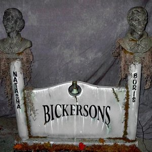 Bickersons Made from the talking Bust from Sam's last year.