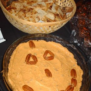 HPIM2277 Pumpkin spice dip and toasted cinnamon tortillas