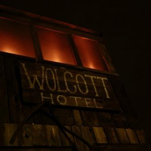 The Wolcott Hotel located in The Wicked West Ghost Town Of Jose Ramon Ave.