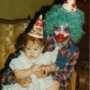 I think this is where my fear of clowns came from