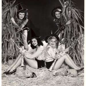 Four Fabulous Witches, 1941, found on Sexy Witch  http://sexywitch.wordpress.com/2011/05/07/fabulous-four-witches-1941/
